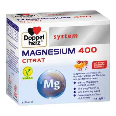 Doppelherz Magnesium 400 Citrat system Granulat  bei apotheke.at bestellen