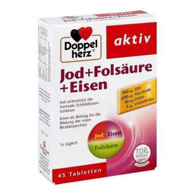 Doppelherz Jod + Folsäure + Eisen Tabletten  bei apotheke.at bestellen
