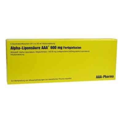 Alpha Liponsäure Aaa 600 mg Injektionsflaschen  bei apotheke.at bestellen