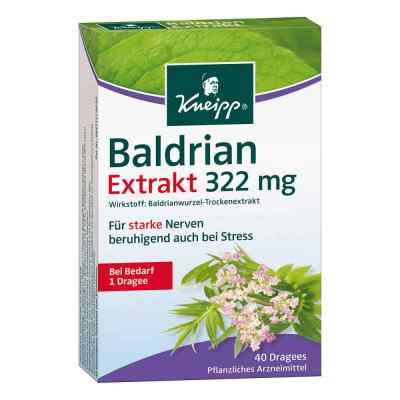 Kneipp Baldrian Extrakt 322mg  bei apotheke.at bestellen