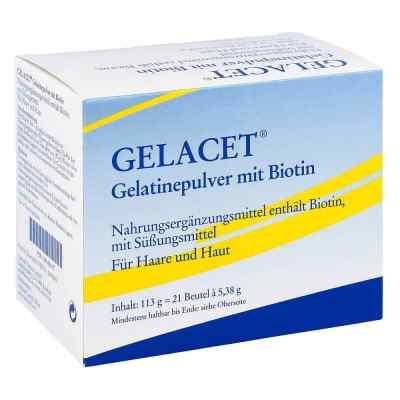 Gelacet Gelatinepulver mit Biotin im Beutel  bei apotheke.at bestellen