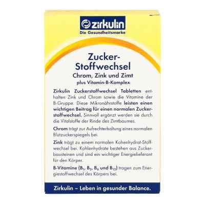 Zirkulin Zuckerstoffwechsel Zimt Plus Tabletten  bei apotheke.at bestellen
