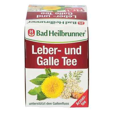 Bad Heilbrunner Tee Leber und Galle Filterbeutel  bei apotheke.at bestellen