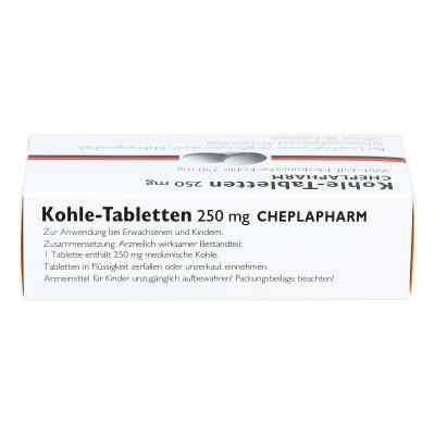 Kohle-Tabletten 250mg  bei apotheke.at bestellen