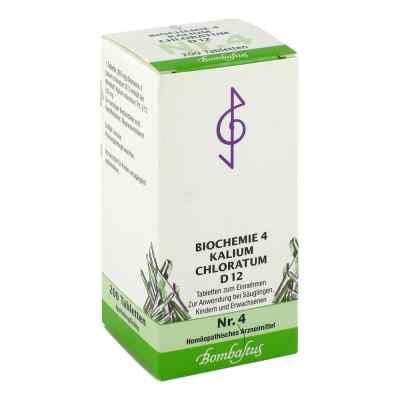 Biochemie 4 Kalium chloratum D12 Tabletten  bei apotheke.at bestellen