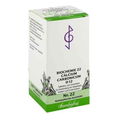 Biochemie 22 Calcium carbonicum D 12 Tabletten  bei apotheke.at bestellen