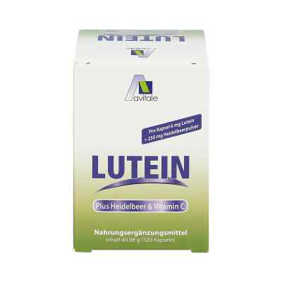 Lutein Kapseln 6 mg + Heidelbeer