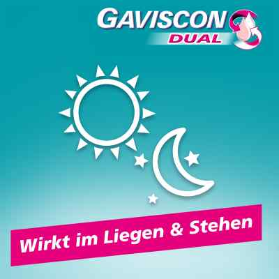 Gaviscon Dual 250mg/106,5mg/187,5mg Kautabletten  bei apotheke.at bestellen