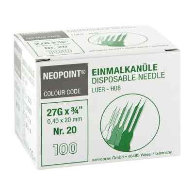 Kanülen Neopoint 20 0,40x20