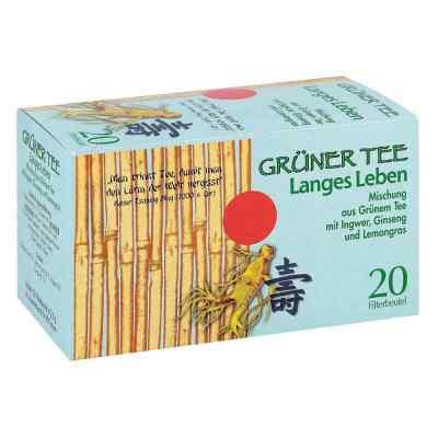 Grüner Tee + Ingwer + Ginseng Filterbeutel  bei apotheke.at bestellen