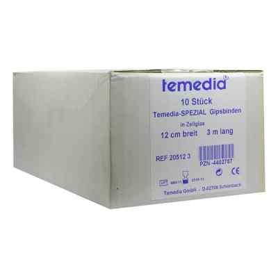 Gipsbinde Temedia spezial 3 m x 12 cm  bei apotheke.at bestellen