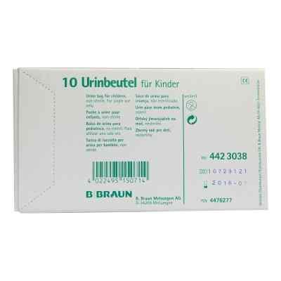 Urin Beutel  für  Kdr.z.ankleben unsteril ohne Antir.Vent.