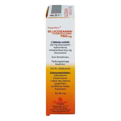 Doppelherz GLUCOSAMIN-HYDROCHLORID 750mg  bei apotheke.at bestellen