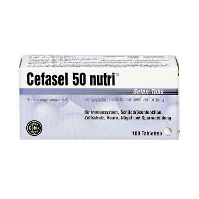 Cefasel 50 nutri Selen Tabs Tabletten