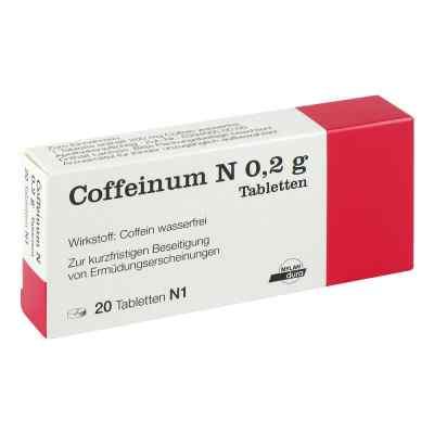 Coffeinum N 0,2g  bei apotheke.at bestellen