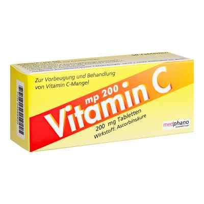 Vitamin C200 mg Tabletten  bei apotheke.at bestellen