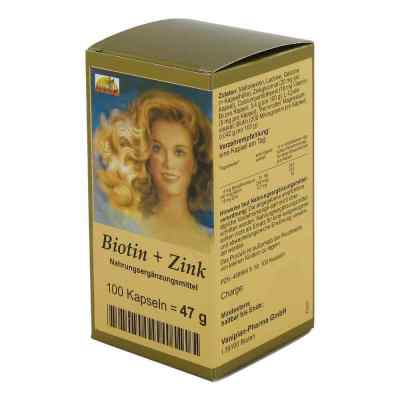 Biotin Plus Zink Haarkapseln  bei apotheke.at bestellen