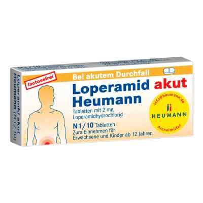 Loperamid akut Heumann  bei apotheke.at bestellen