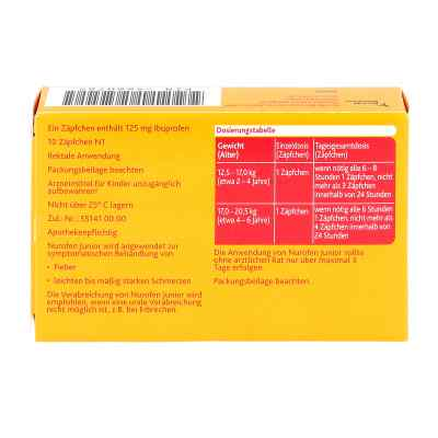 Nurofen Junior 125mg