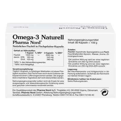 Omega 3 Naturell Pharma Nord Kapseln  bei apotheke.at bestellen