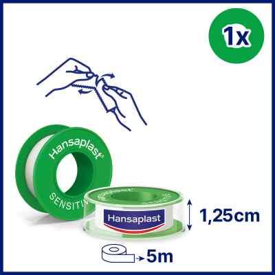 Hansaplast Fixierpflaster sensitive 5mx1,25cm  bei apotheke.at bestellen