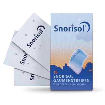 Snorisol Gaumenstreifen