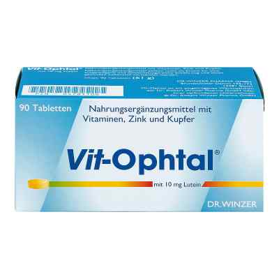 Vit Ophtal mit 10 mg Lutein Tabletten