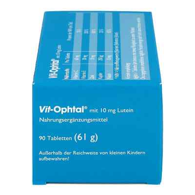 Vit Ophtal mit 10 mg Lutein Tabletten  bei apotheke.at bestellen