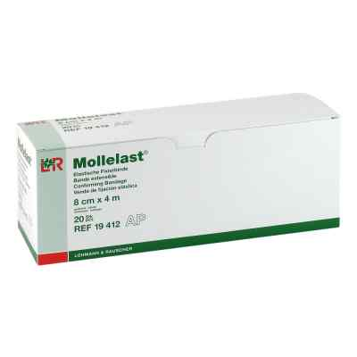 Mollelast 8cmx4m weiss  bei apotheke.at bestellen