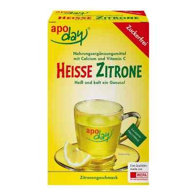 Apoday Heisse Zitrone Vitamine c und Calcium ohne Zucker Plv  bei apotheke.at bestellen