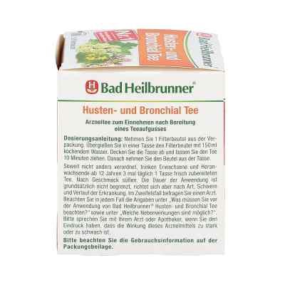 Bad Heilbrunner Husten- und Bronchial Tee N