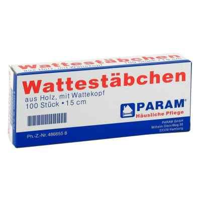 Wattestab mit Wattekopf 15 cm  bei apotheke.at bestellen
