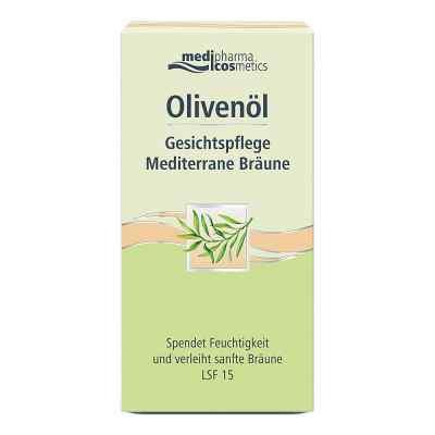 Olivenöl Gesichtspflege Creme mediterrane Bräune