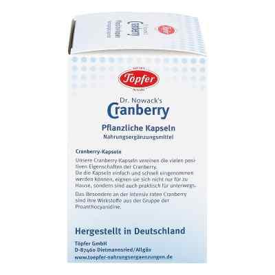 Töpfer Doktor nowacks Cranberry Kapseln  bei apotheke.at bestellen