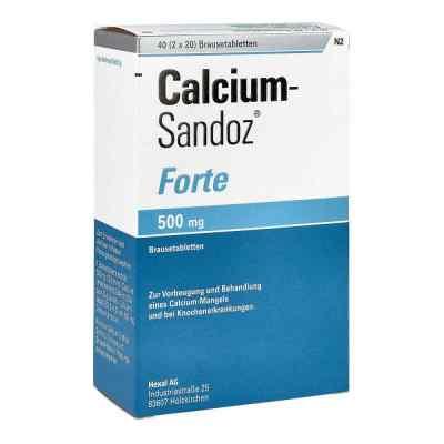 Calcium-Sandoz forte 500mg  bei apotheke.at bestellen