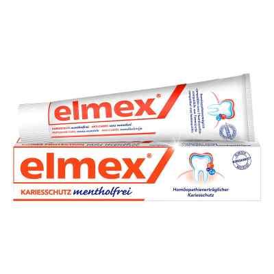 Elmex mentholfrei Zahnpasta mit Faltschachtel  bei apotheke.at bestellen