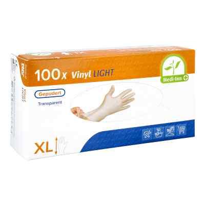 Medi Inn Vinyl Gepudert Einmalhandschuhe Größe XL  bei apotheke.at bestellen