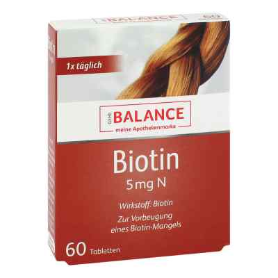Gehe Balance Biotin 5 mg N Tabletten  bei apotheke.at bestellen