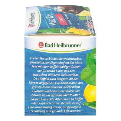 Bad Heilbrunner Tee Guarana Mate Kräuterpower