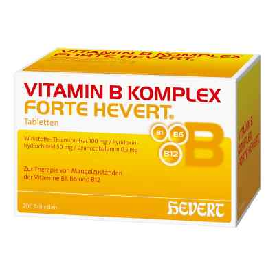Vitamin B Komplex forte Hevert Tabletten  bei apotheke.at bestellen