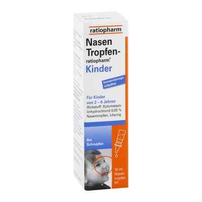 NasenTropfen-ratiopharm Kinder 10 ml von ratiopharm GmbH PZN 05006059