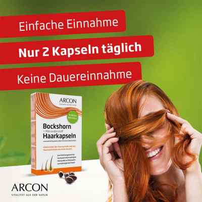 Bockshorn + Mikronährstoff Haarkapseln Tisane p