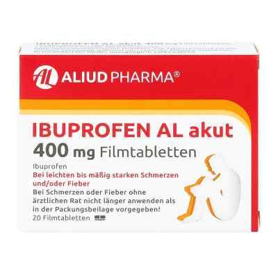 Ibuprofen AL akut 400mg  bei apotheke.at bestellen