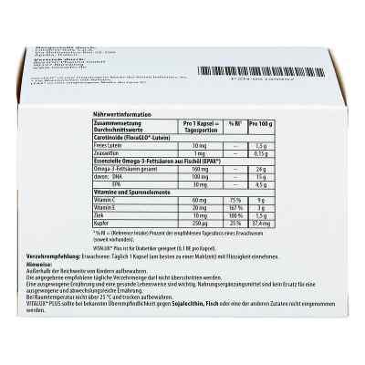 Vitalux Plus Lutein und Omega 3 Kapseln  bei apotheke.at bestellen