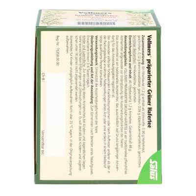 Vollmers präparierter grüner Hafertee Filterbeutel  bei apotheke.at bestellen