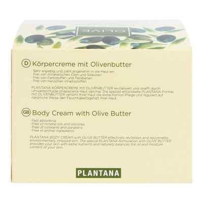 Plantana Olive Butter Körper Creme  bei apotheke.at bestellen