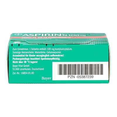 Aspirin N 100mg  bei apotheke.at bestellen