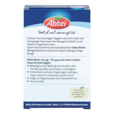 Abtei Biotin 10 mg Tabletten  bei apotheke.at bestellen