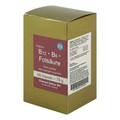 B12 + B6 + Folsäure ohne Lactose Kapseln  bei apotheke.at bestellen