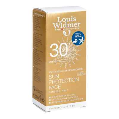 Widmer Sun Protection Face Creme 30 unparfümiert